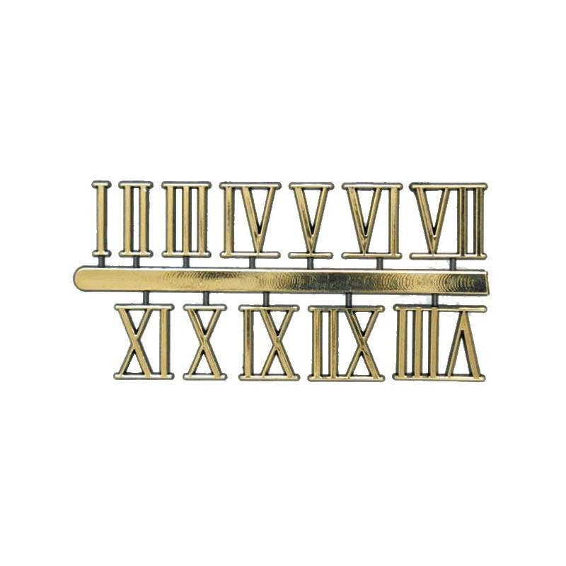 Numeros Romanos Para Relojes 11 Mm