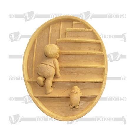 Plato escaleras