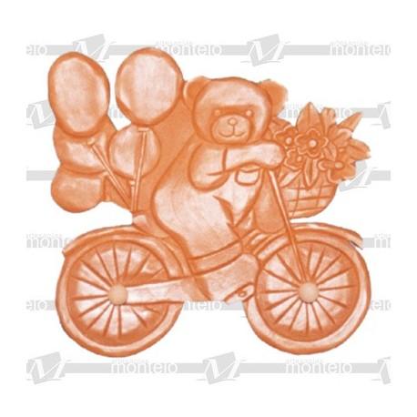 Oso con bicicleta