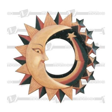 Espejo sol mediano