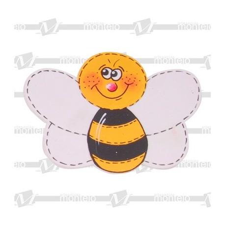 Silueta abeja mediana