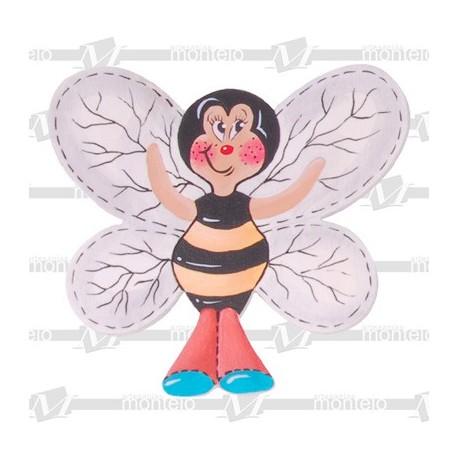 Silueta abeja grande