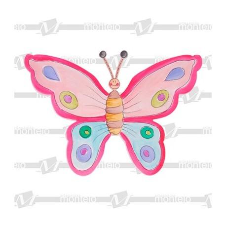 Silueta mariposa