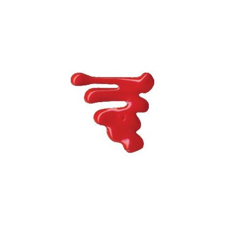 ACRILEX® Pinturas 3D Brillante Rojo Fuego 35ml