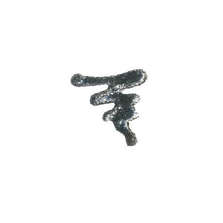 ACRILEX® Pinturas 3D Glitter Plata 35ml