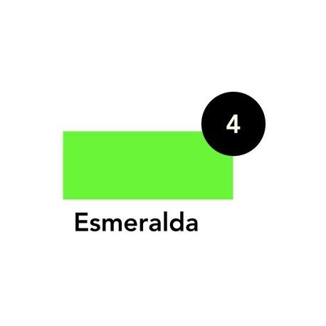 Laca Crystal Esmeralda, Tarro 50ml