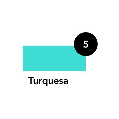 Laca Crystal Turquesa, Tarro 50ml