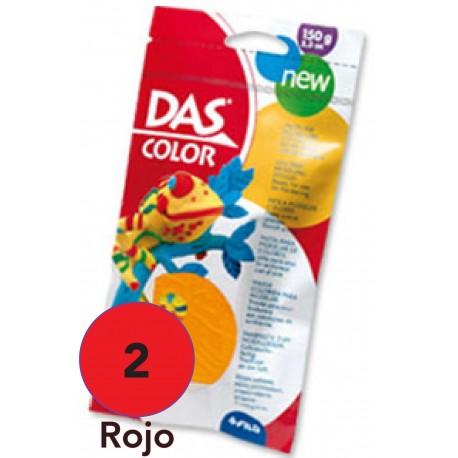 DAS Pasta de Modelar de Colores, Rojo 150 grs.