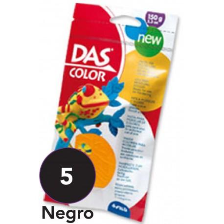 DAS Pasta de Modelar de Color, Negro 150 grs.