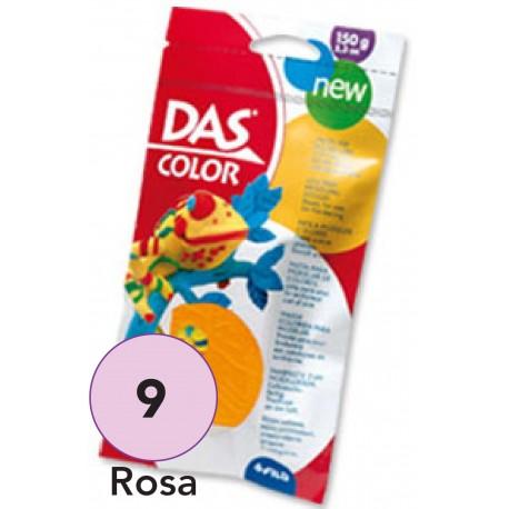 DAS Pasta de Modelar de Color, Rosa 150 grs.