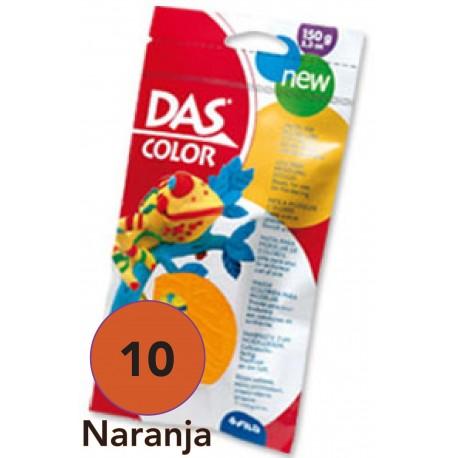 DAS Pasta de Modelar de Color, Naranja 150 grs.