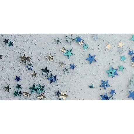 Pegamento con Conffeti Estrella Azul 60 ml