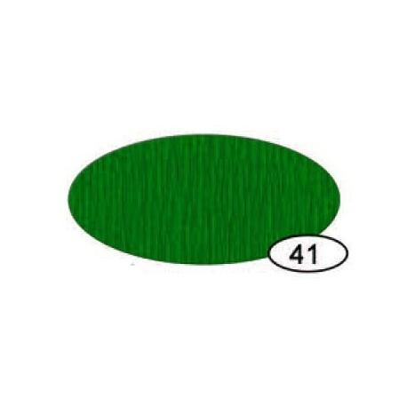 Papel Crespón Verde Oscuro