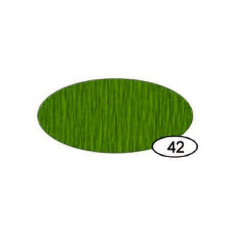 Papel Crespón Verde Oliva