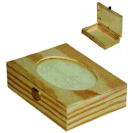 Caja Pequeña con Cristal Oval