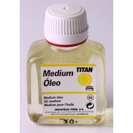 Medium Óleo 100ml