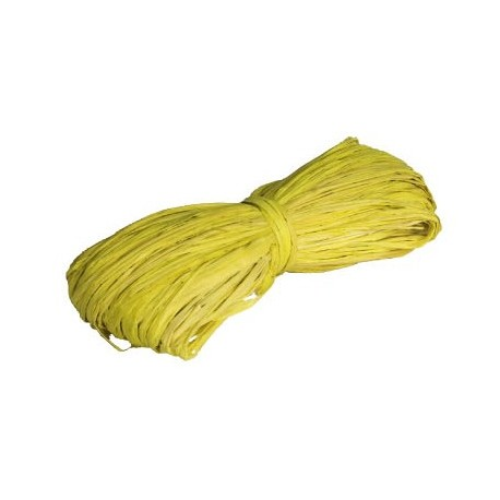 Rafiia 100% Natural 25g, Amarillo