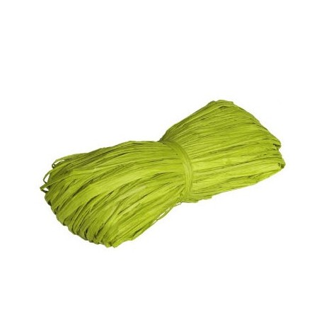 Rafiia 100% Natural 25g, Verde Claro