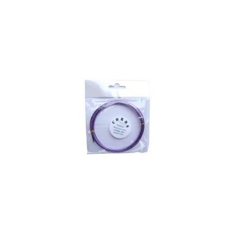Alambre de Aluminio 1,5mm Violeta