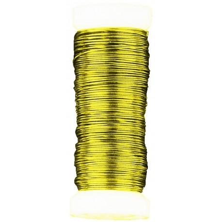 Alambre 0,4mm Oro