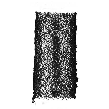 Alambre Zig-Zag 0,3mm Negro