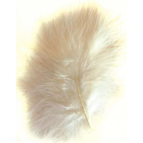 Plumas de Marabou, Natural