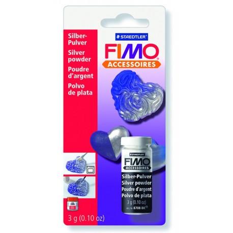 FIMO Purpurina Plata 10g