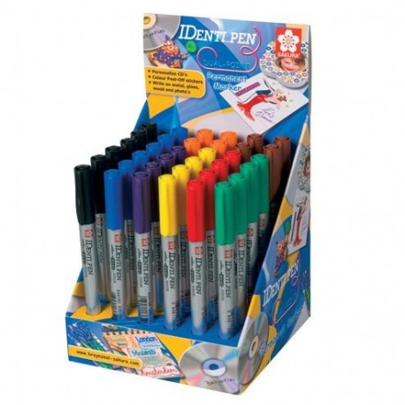 Expositor Identi®-pen, 6pzs cada color