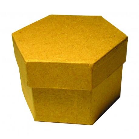 Caja Cartón Hexagono