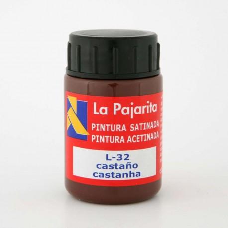 Pintura Satinada, Castaño