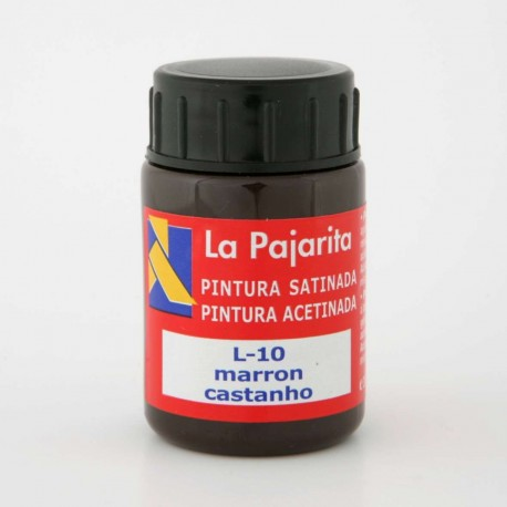Pintura Satinada, Marrón