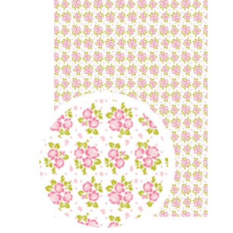 Washi-Tape A4 flores