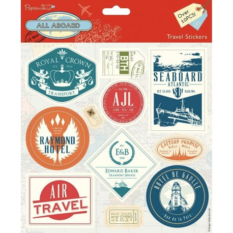 ALL ABOARD- stickers