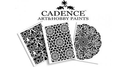 Stencil CADENCE 21X30 Background