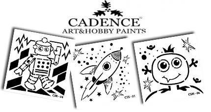 Stencil CADENCE series KIDS