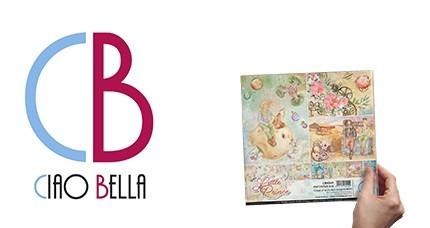 CIAO BELLA Paper Pad 8x8