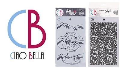 CIAO BELLA Stencils Art