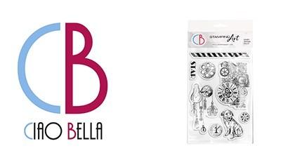 CIAO BELLA Clear Stamp 6x4