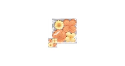 Flores de Papel y blondas