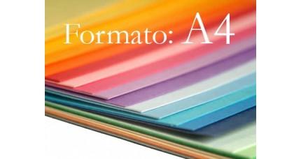 Cartulinas A4
