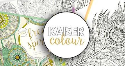 KAISER COLOUR Libros para colorear