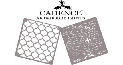 Stencil CADENCE Home Decor