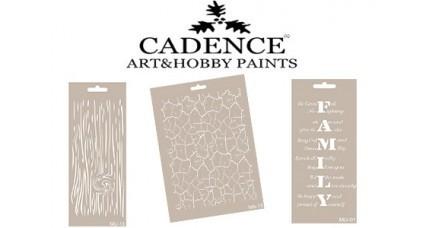 Stencils CADENCE Mix Media