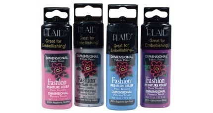 Pintura dimensional FASHION PLAID