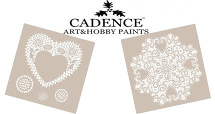 Stencil CADENCE ENCAJE