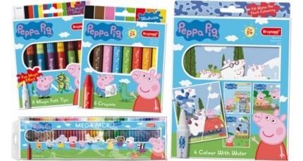 PEPPA PIG Pinturas y rotuladores Bruynzeel