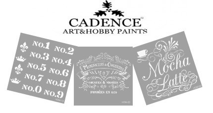 Stencil CADENCE Home Decor Midi