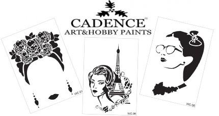 Stencil CADENCE Woman