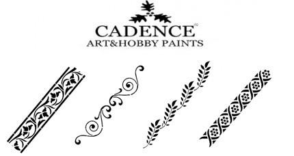 Stencil CADENCE Cenefas