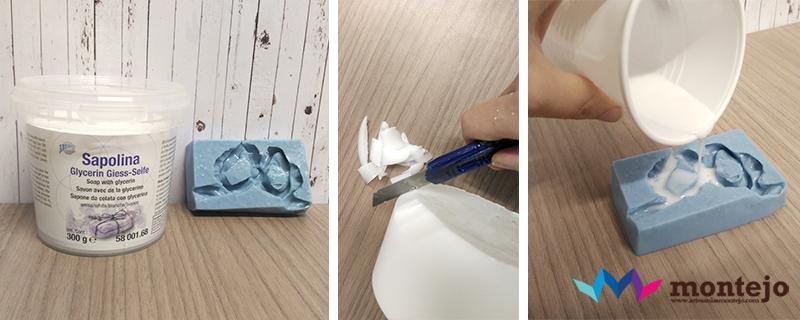 Moldes de alginato para Jabones en Artesanías Montejo